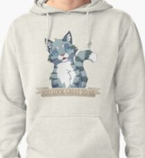 Warrior Cats: Sarcastic Jayfeather Pullover Hoodie