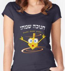 Dreidel, dreidel, dreidel... T shirt Women's Fitted Scoop T-Shirt