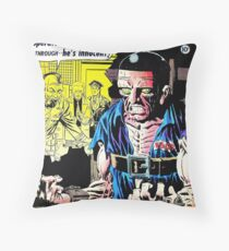 Strange Suspense Stories 19, 1954 cover by Ditko Throw Pillow