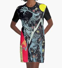 Space War 10, 1961 interior panel by Ditko Graphic T-Shirt Dress