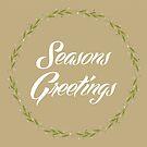 Seasons Greetings Wreath by YingDude