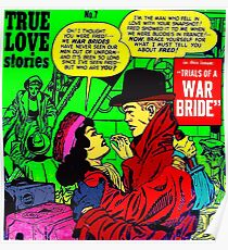 1948 Young Romance 7 cover by Jack Kirby Poster