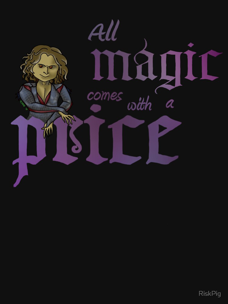 All magic comes with a price by RiskPig