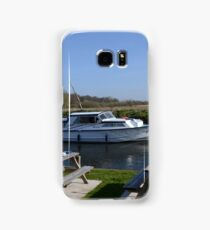 Norfolk Broads Cruiser Samsung Galaxy Case/Skin