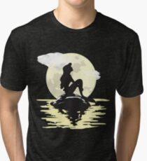 Camiseta de tejido mixto Bajo la luz de la luna