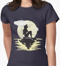 Under the Moonlight Women's Fitted T-Shirt