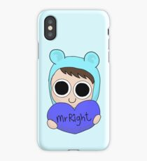 Mr Right iPhone Case/Skin