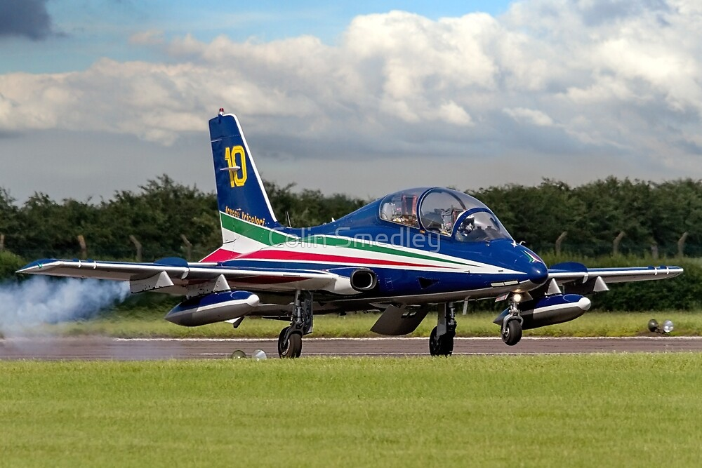 Frecce Numero Dieci landing at Waddington by Colin Smedley