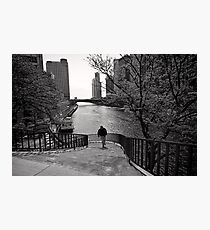 Running Man - Chicago Photographic Print
