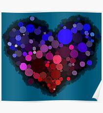 Bubble Love Poster
