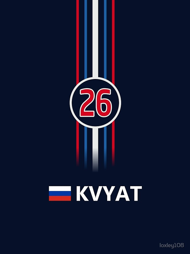 F1 2016 - #26 Kvyat [classic version] by sednoid