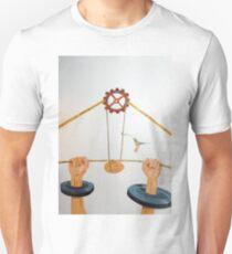 The vulnerable part of mechanisms Unisex T-Shirt