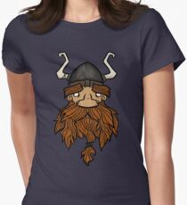Sweet Nordic Brown Viking Women's Fitted T-Shirt