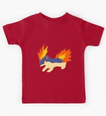 Quilava (pokemon) Kids Clothes