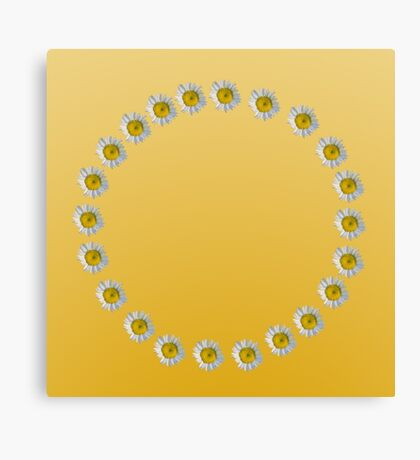 Ring of Dasies Canvas Print