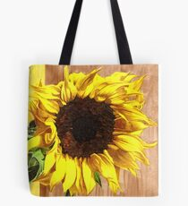 Sunflower, Attingham Park - Pigment Marker Drawing  Tote Bag