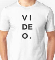 VIDEO. Unisex T-Shirt