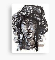 Bonnet Metal Print