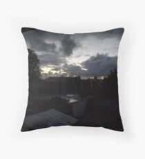 October Sky - Early in the morning Throw Pillow