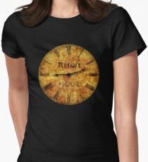 Rush Hour Womens Fitted T-Shirt
