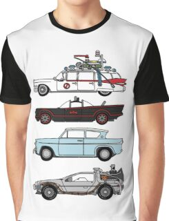 Iconic movie cars Graphic T-Shirt