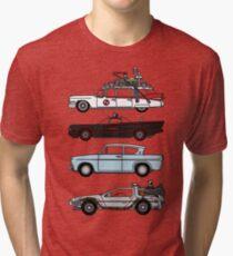 Iconic movie cars Tri-blend T-Shirt