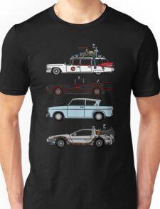 Iconic movie cars Unisex T-Shirt