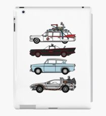 Iconic movie cars iPad Case/Skin