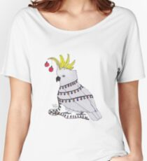Christmas Cockatoo Women's Relaxed Fit T-Shirt