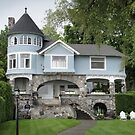 Castle House in Harbor Springs by John Carpenter