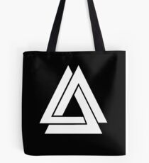 Bastille - Simple WWCOMMS Triangle Tote Bag