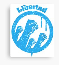 Libertad Canvas Print