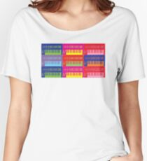 Pop Art Synthesizers Women's Relaxed Fit T-Shirt