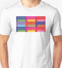 Pop Art Synthesizers T-Shirt