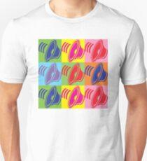 Pop Art Speaker Cones T-Shirt