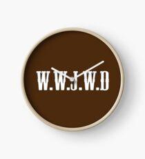 W.W.J.W.D Clock