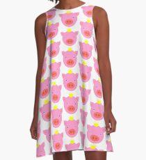 Pig Pig Pig Pig A-Line Dress