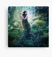 The Dryad Sunlight Canvas Print