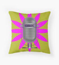 Karaoke Phone Throw Pillow