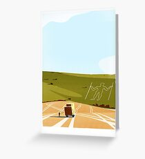 Long Man of Wilmington Greeting Card