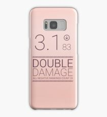 Black Mirror - Nosedive Double Damage Samsung Galaxy Case/Skin