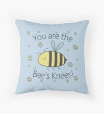 The Bee's Knees! Throw Pillow
