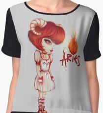 Aries Girl - Fire Star Signs   Women's Chiffon Top