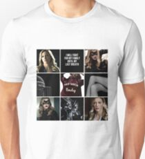 Laurel Lance/Black Canary aesthetic T-Shirt