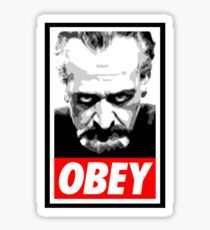 Obey Your Master! Sticker