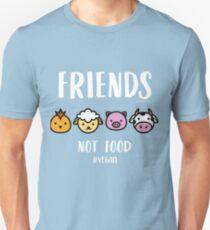 Friends Not Food #Vegan Unisex T-Shirt