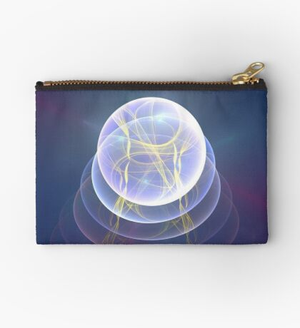 Planet Light #Fractal Art Zipper Pouch
