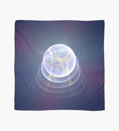 Planet Light #Fractal Art Scarf