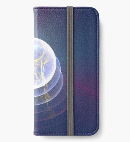 Planet Light #Fractal Art iPhone Wallet