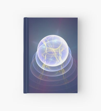 Planet Light #Fractal Art Hardcover Journal